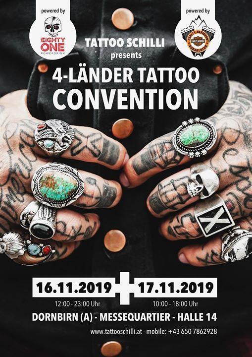 4-Lnder Tattoo Convention Dornbirn