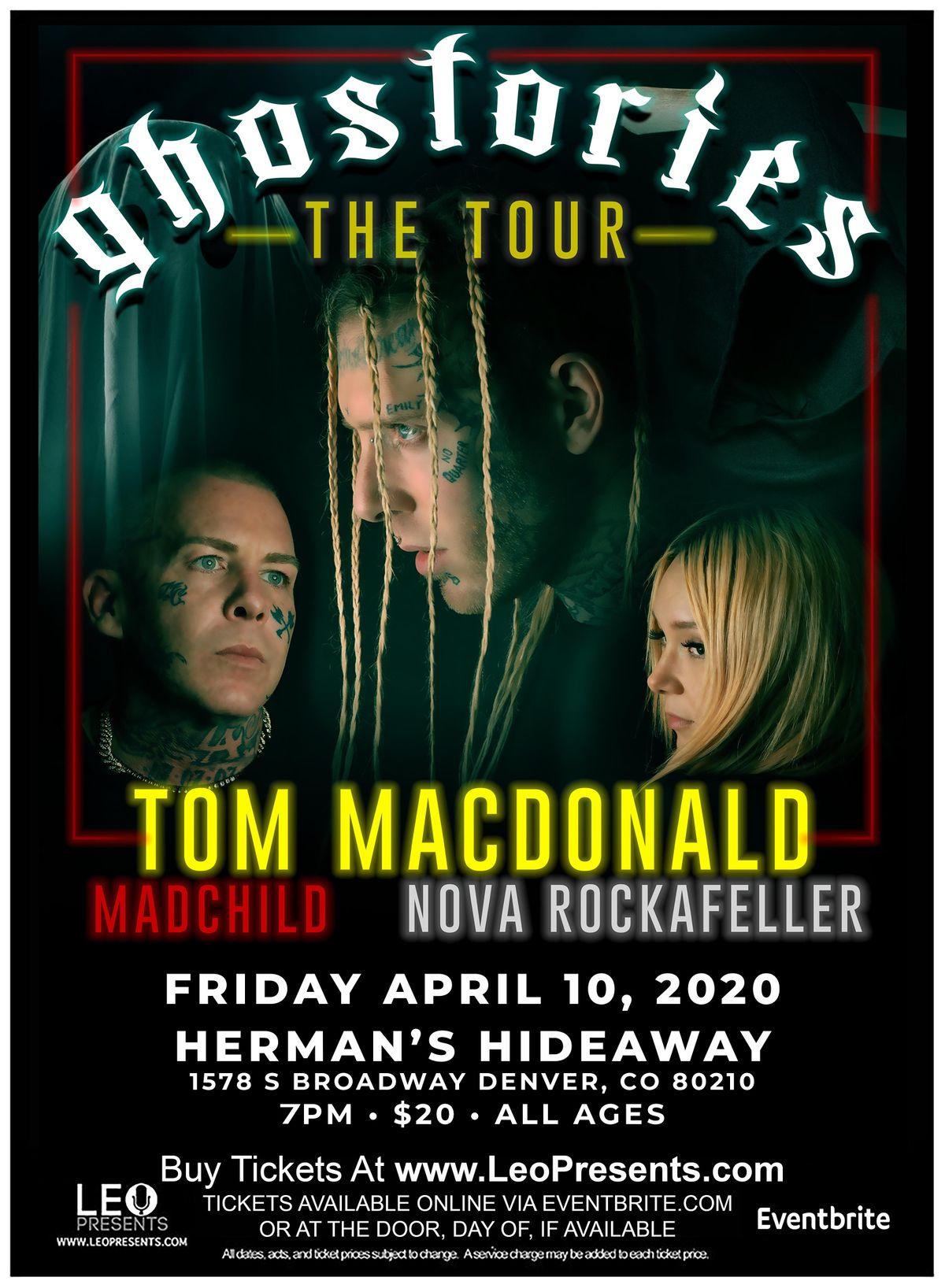 TOM MACDONALD w MADCHILD  NOVA ROCKAFELLER  BRANDON HART  MINUS LOVE