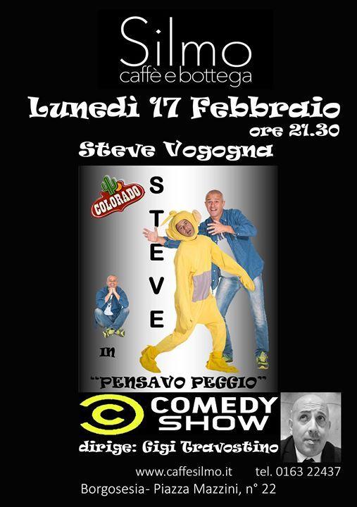 Silmo Comedy Show special guest Steve Vogogna