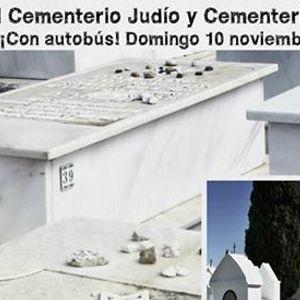 Visita al Cementerio Judo y Cementerio de Casabermeja con bus
