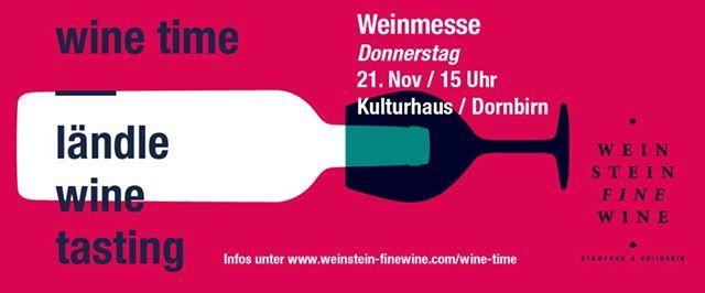 WINE TIME - Die Weinmesse