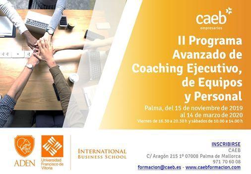 II Programa Avanzado de Coaching Ejecutivo de Equipos Personal