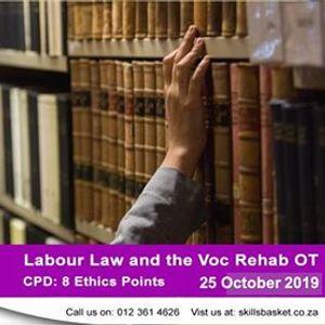 Labour Law and the Voc Rehab OT