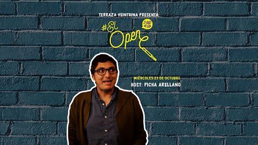 El Open Con Picha Arellano At Terraza Veintiuna Zapopan