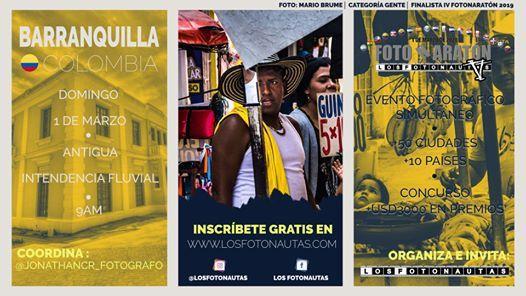 FotoSalida Barranquilla - V FotoNaratn Iberoamericana 2020