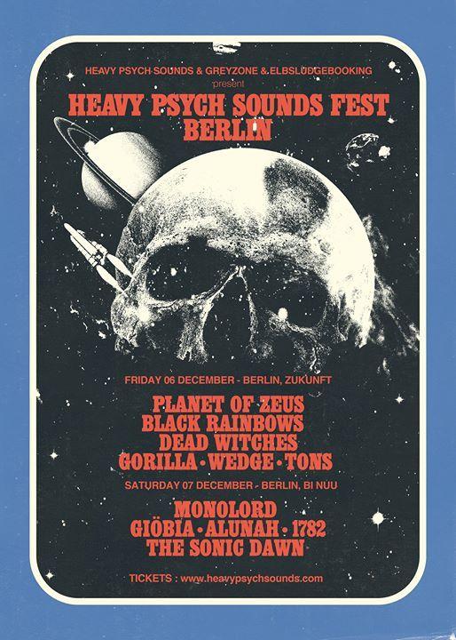 Heavy Psych Sounds Fest Berlin w Monolord uvm