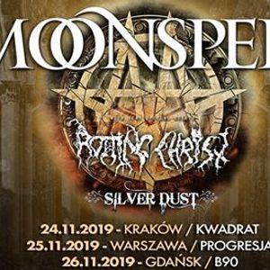 Moonspell  Rotting Christ Silver Dust  25 XI  Warszawa