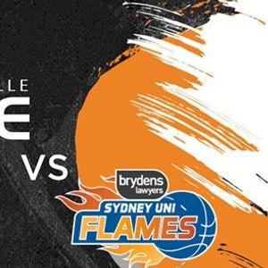 JCU Townsville Flames VS Sydney Uni Flames