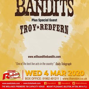 The Robin 2 presents Wille & The Bandits