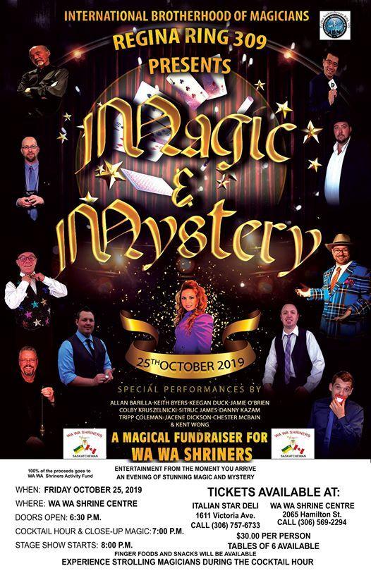 Regina IBM Ring 309 Presents Magic and Mystery