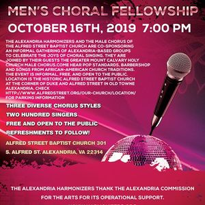 Mens Choral Fellowship