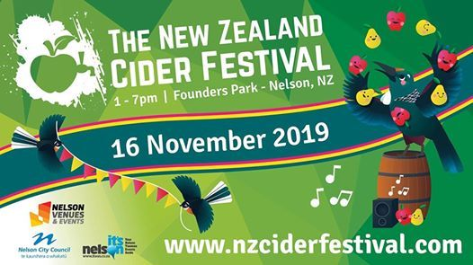 The NZ Cider Festival 2019 - 16 November 2019