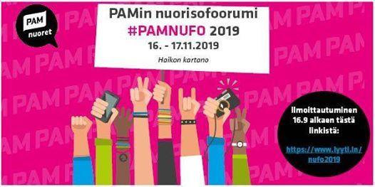 PAMin Nuorisofoorumi 2019