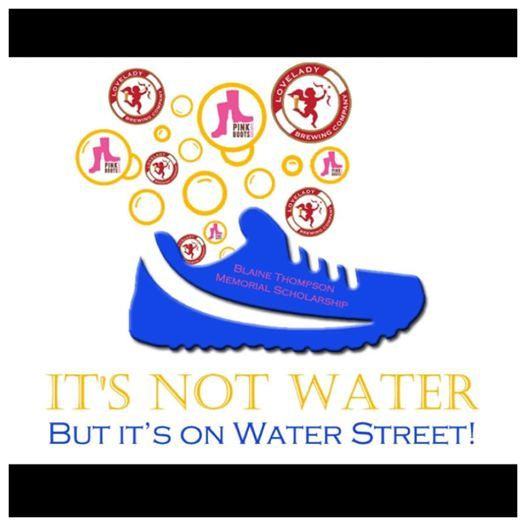 Its Not Water But On Water Street Relay Race