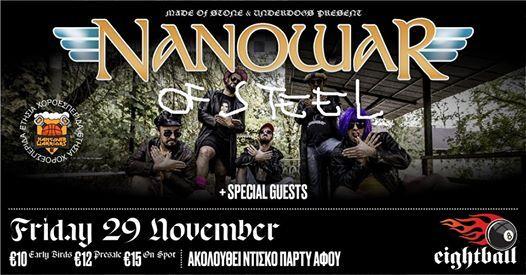 Nanowar of Steel [IT] wHomo  [GR] live in Thessaloniki