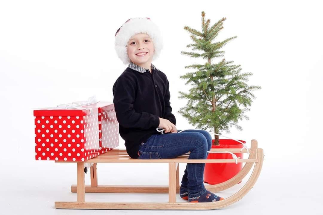 Christmas Childrens Photoshoots - Plympton