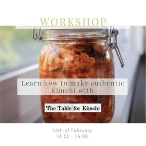 Workshop Learn to make authentic Kimchi