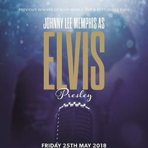 Johnny Lee Memphis performing as Elvis Presley