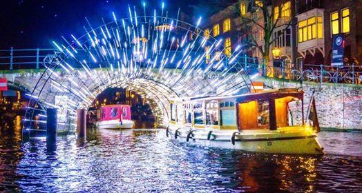 Von Hamburg nach Amsterdam - Light Festival