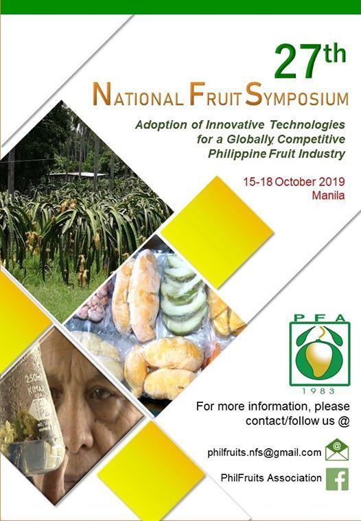27th National Fruit Symposium