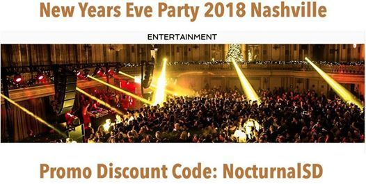 Big Night Nye 2020 Nashville Discount Promo Code Tickets Gala