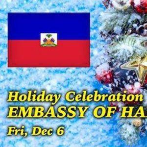 Haitian and Caribbean Holiday Celebration at the Embassy of Hait