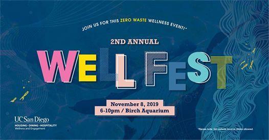 2nd Annual WellFest Zero Waste Wellness Event