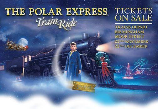 The Polar Express Steam Train Ride Birmingham