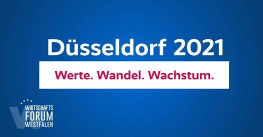 Wirtschaftsforum Nordrhein-Westfalen  Dsseldorf 2021