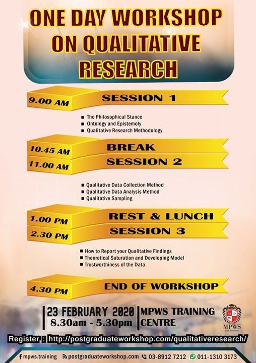 One Day Workshop on Qualitative Research