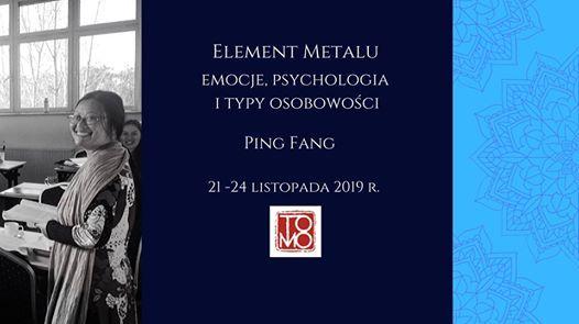 Element Metalu  Emocje psychologia i typy osobowoci
