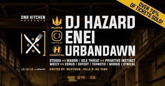 DnB Kitchen w DJ Hazard  Enei  Urbandawn  support