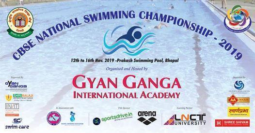 CBSE National Swimming Championship 2019
