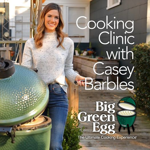 Big Green Egg Holiday Cooking Clinic with Casey