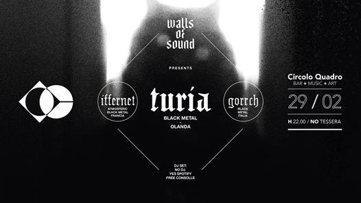 Walls Of Sound  Live Turia - Iffernet - Gorrch