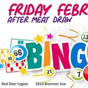 Red Deer Bingo