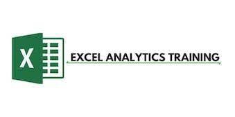 Excel Analytics 3 Days Training in Ottawa