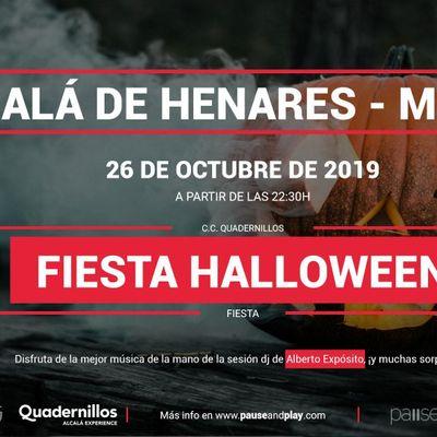 Fiesta Halloween en Pause&ampPlay Quadernillos