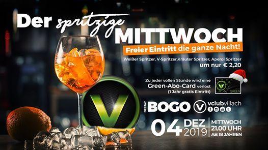 Der spritzige Mittwoch presented by DJ Bogo