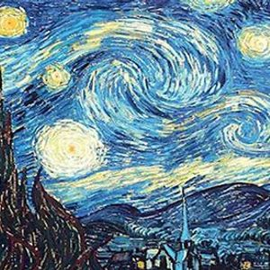Van Gogh Starry Night - Six Tanks