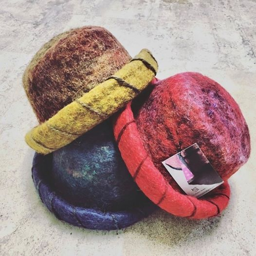 Wet Felted Hat Workshop with Kami Watson