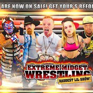Extreme Midget Wrestling 2 in Atlanta GA at Lacura bar