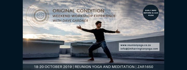 Original condition workshop with Dave Gardner