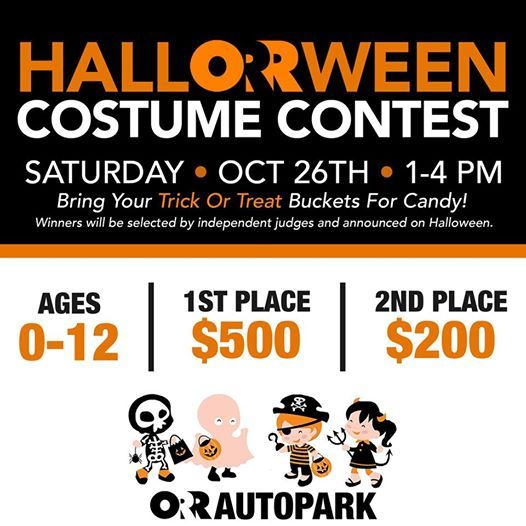 Orr Chevrolet Fort Smith >> Halloween Costume Contest At Orr Chevrolet Cadillac Barling