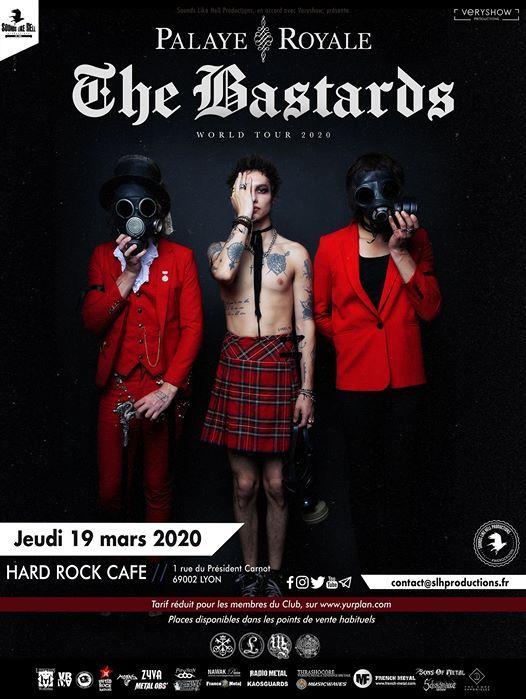 Palaye Royale  Charming Liars au Hard Rock Cafe Lyon