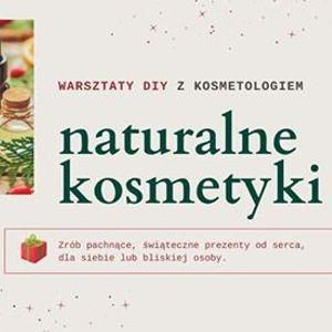 Warsztaty DIY naturalne kosmetyki - zrb prezent na wita