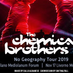 The Chemical Brothers live at Modigliani Forum Livorno Italy