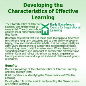 Developing the Characteristics of Effective Learning