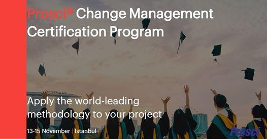 Prosci Change Management Certification Program (TR)