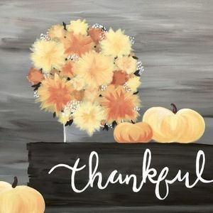 Paint Nite - Thankful For Fall